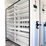 بایگانی مکانیزه ریلی بانک کشاورزی - شعبه گیشا