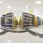 قفسه بندی ریلی کتابخانه مرکزی دانشگاه فردوسی مشهد